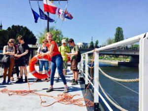 Atrakcje Bydgoszcz- zwiedzanie z przewodnikiem Barki Lemara w Bydgoszczy