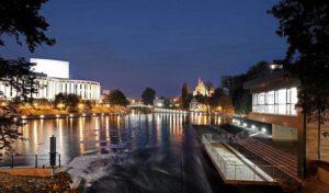 Atrakcje Bydgoszcz- zwiedzanie miasta z przewodnkiem nocą