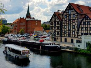 Atrakcje Bydgoszcz - tamwaj wodny Bydgoszcz