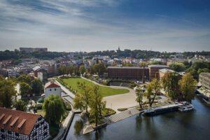 Atrakcje Bydgoszcz- zwiedzanie z przewodnikiem Wyspy Młyńskiej
