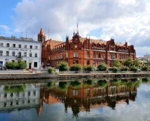 Zabytkowa Poczta w Bydgoszczy