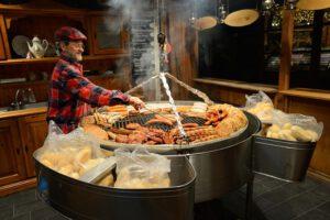 Regionalne jedzenie na jarmarkach
