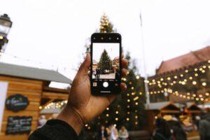 Choinka na Jarmarku Świątecznym