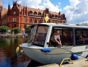 rejs tramwajem wodnym