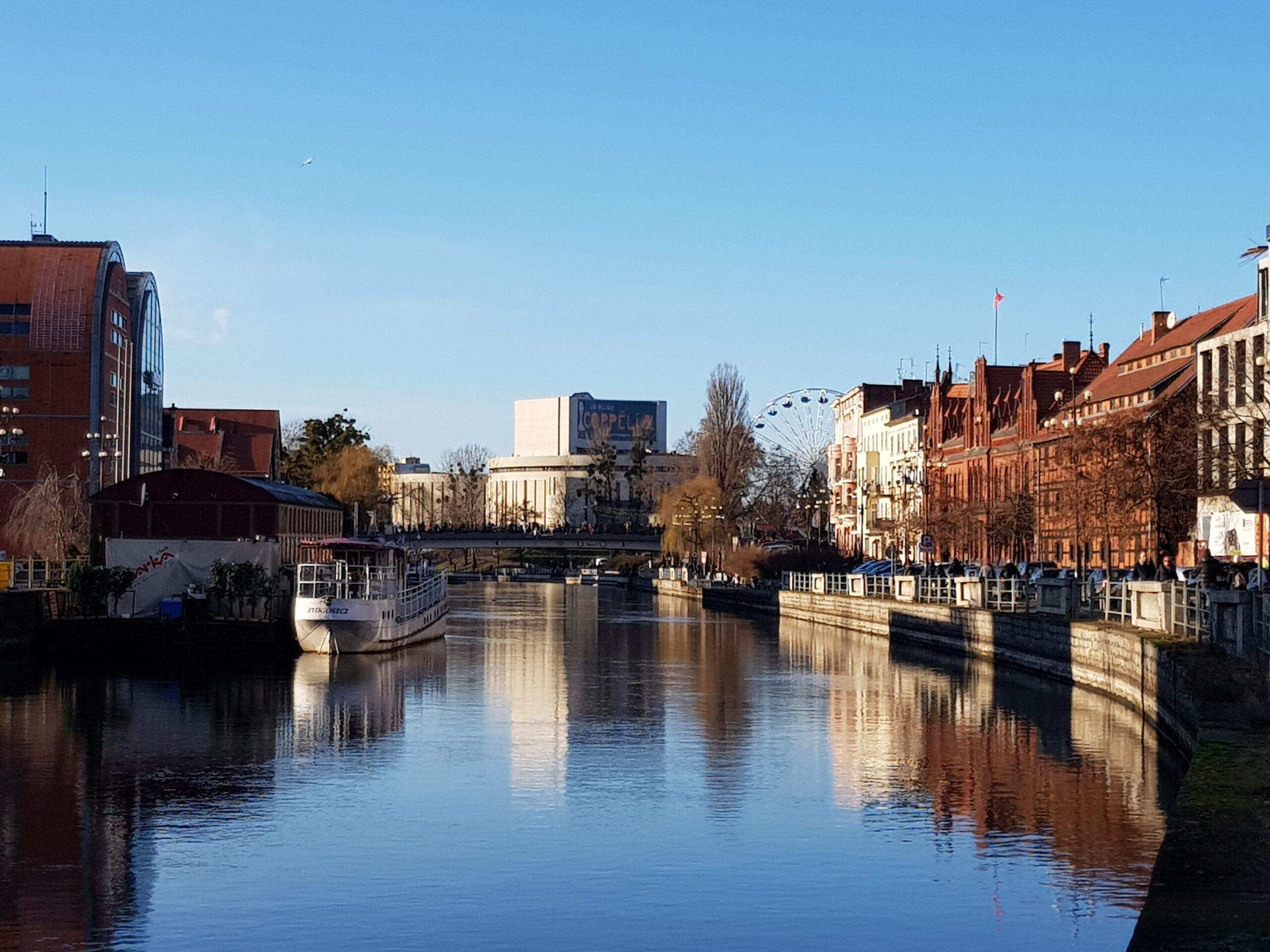 Bydgoszcz- dawne miasto portowe