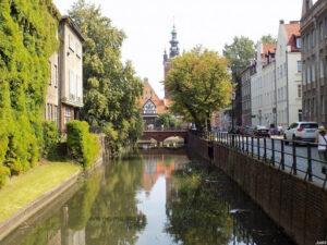 Gdańska Wenecja - kanał Raduni